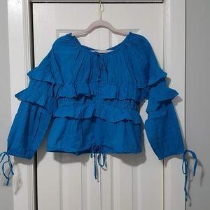 Tops - BRAND NEW Lightweight dressy cotton blouse